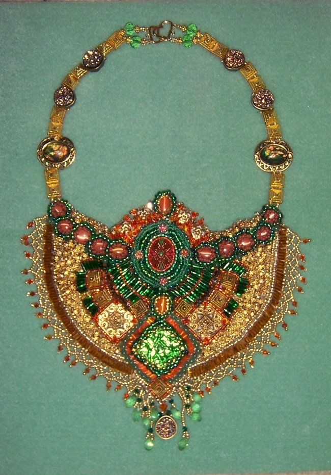 Aztec Necklace - 001B - Scaleda