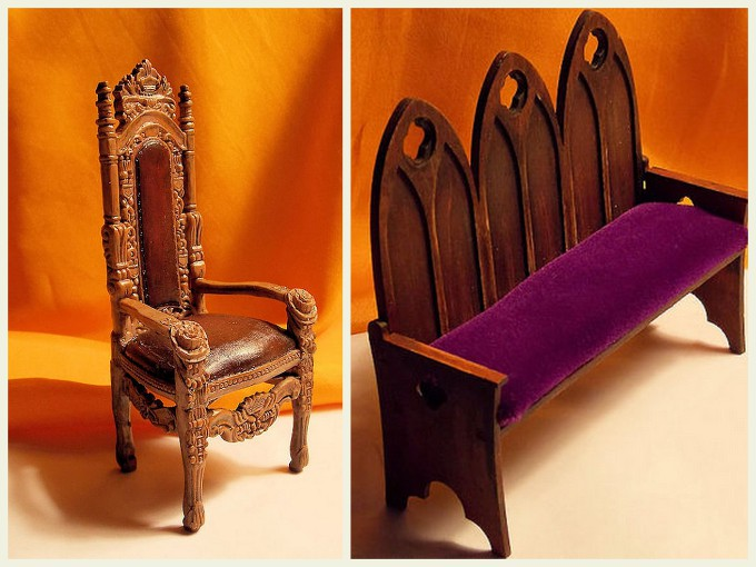 Collage - Gothic FurnitureA