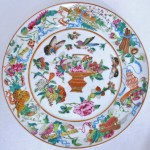 Plate - Chinese Floral 01A
