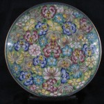Plate - Chinese Floral 01B