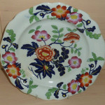 Plate - Floral Ironstone 01A