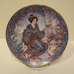 Plate - Royal Doulton Plum Blossom Maiden 01A