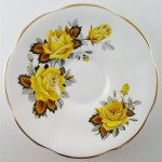 Plate - Yellow Roses 01A