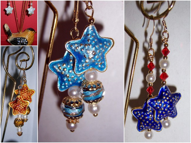 Star Earrings - 01Aa