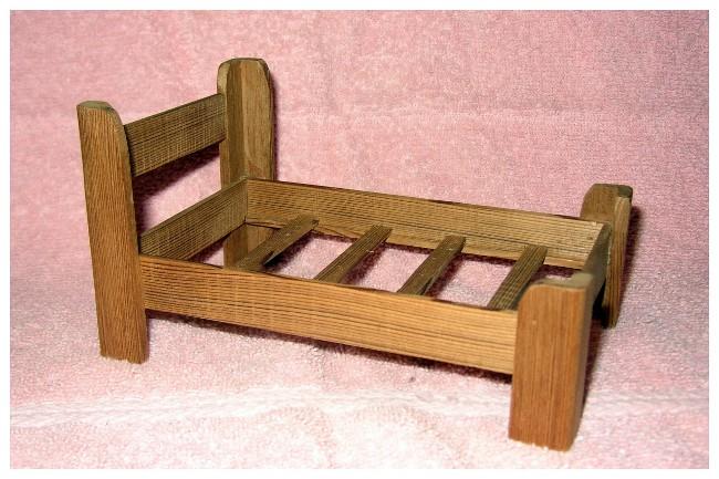 Chet - Rustic Bed 01AA