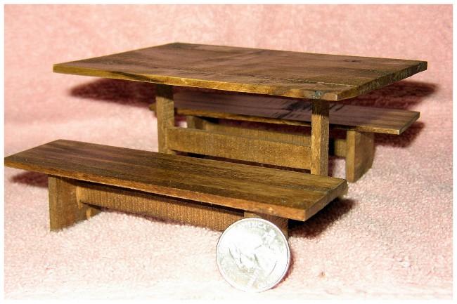 Chet - Trestle Table 01AA
