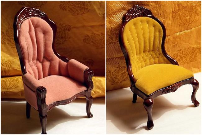 Victorian Chairs - 01AA