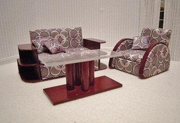 Art Deco LR Set for A-Frame