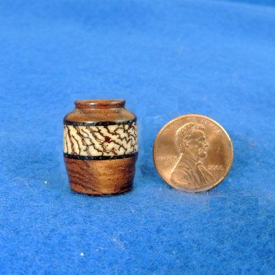 Betel Nut Turned Jar - 01A