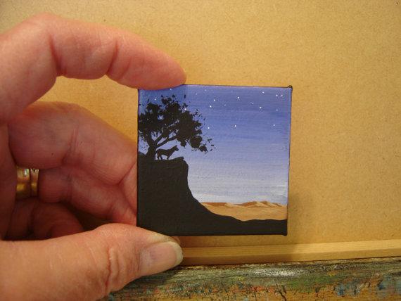 Desert Painting by Evelyn Allen 02