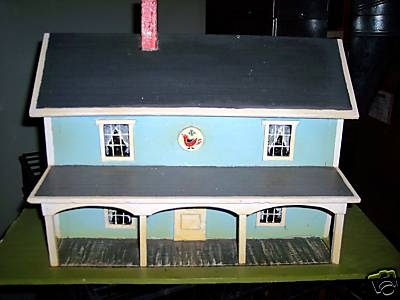 Quarter Scale Amish House - 01A