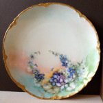 Plate - Antique French 01A