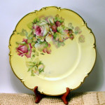 Plate - Bavarian Roses 01A