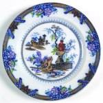 Plate - Blue Border - 01A