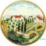 Plate - Majolica 01E