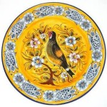 Plate - Spanish Majolica 01A