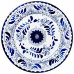 Plate - Talavera 02F
