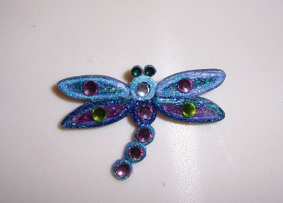 Quilled Dragonfly - 01Bbbb