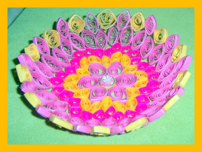 Quilled Bowl - Jan -01AA