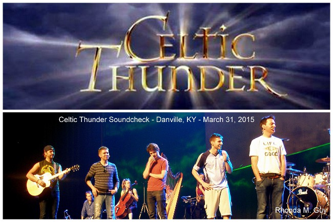 Rhondaguy danville kentucky celtic thunder concert norton the first of those exciting events was the soundcheck which was absolutely fantastic and almost as much fun as the actual concert m4hsunfo